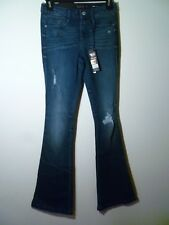 Suede Farrah Ladies Denim High Rise Flare Jeans Size 25 NWT MSRP $69.00