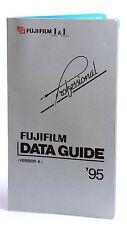 Fuji Fujifilm Folleto de guía de datos Profesional/Print - 82pp 1995