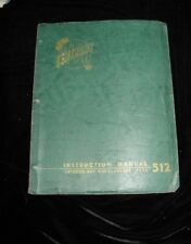 Tektronix Type 512 Cathode-Ray Oscilloscope Instruction Manual