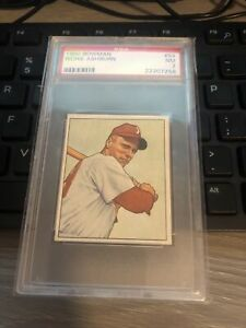 1950 Bowman #84 Richie Ashburn PSA 7