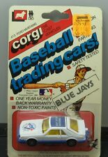 Corgi Toronto Blue Jays Mustang Baseball Trading Cars 1/64 factory sealed