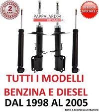 4 AMMORTIZZATORI ANTERIORI +POSTERIORI BMW SERIE 3 (E46) 318d 320d 330d 316 318i