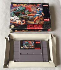 Super Nintendo SNES Game STREET FIGHTER II 2 NTSC US Boxed 'Free post'
