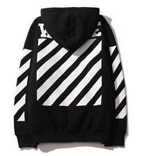 White/Black Off White Justin Bieber Men Women Classic Hoodie Coat Jacket Clothes