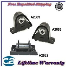 Engine Mount Fits: 1997-2006 Jeep Wrangler 2.4/ 4.0L Set 3PCS *