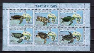 MOZAMBIQUE - 2007 TURTLES  M2707D
