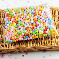 Polystyrene DIY Gift Foam Balls Assorted Colors Styrofoam Filler Foam Beads