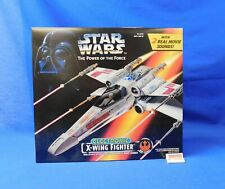 Vtg 1995 Electronic X-Wing Fighter Vehicle Star Wars Power of the Force Kenner