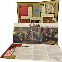 Clue Classic Detective Vintage 1985 Board Game Parker Brothers  complete NO DICE