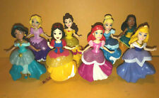 Disney Princess 8 Figure toy Royal Clips Belle Snow White Little Mermaid Jasmine