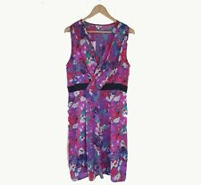 Brand New Per Una m&s Multi Floral Evening Formal Wedding Guess Dress Size 16