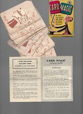 Vintage Ed U Cards Magic Card Tricks