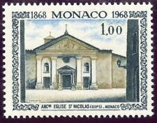 STAMP / TIMBRE DE MONACO N° 748 ** ANCIENNE ABBAYE DE SAINT NICOLAS