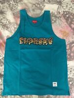 Supreme Splatter Tank Top Teal