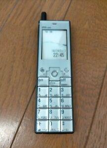 "Cellular Phone ""INFOBAR"" Prototype Designed by Naoto Fukasawa Silver&Navy MoMA"