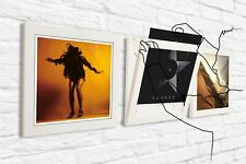 White Play & Display Flip Frame - UV Protection for Albums and LP's - Triplepack
