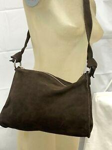 Marc Jacobs Medium Brown Suede Hand Shoulder Bag