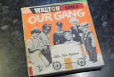 Vintage Walton Super 8 Movie OUR GANG in LITTLE FIRE FIGHTERS