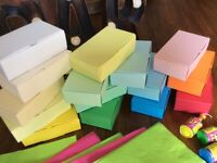 Party Cake Boxes - Luxury Favour Boxes - Larger size 105x65x35mm FREE Delivery!!