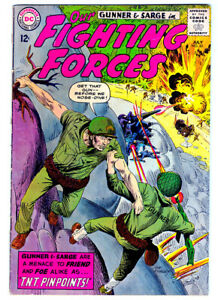 OUR FIGHTING FORCES #85 in FN- grade 1964 DC WAR comic with Gunner & Sarge