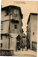 CPA  Le Lot Pittoresque - Figeac - Rue Droite  (223895)