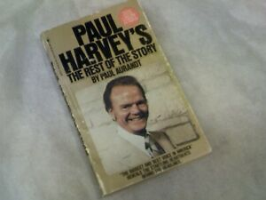 """""""Paul Harvey's The Rest of the Story"""", by Aurandt, Paperback, Fast Free Shipping"""