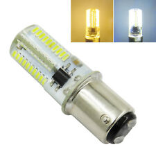 1x/10x BA15D 220V 4W LED Bulb 72-4014 SMD Fit Many Sewing Machine Warm/White #N