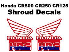Tank decals Honda CR125r CR250r CR500r    cr125 cr 125 cr250 cr 250 cr500 cr 500