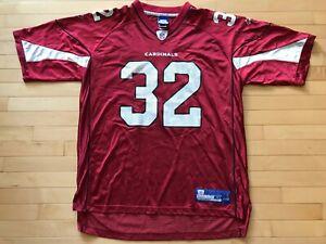 Mens VTG NFL Edgerrin James #32 Arizona Cardinals Reebok Football Jersey Sz XL