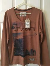 BNWT Mens long sleeved Top - Size M - Urban Surface - Tan