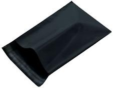 "200 Black 19x24 Poly Mailer Bags   Self Sealing Shipping Envelopes   19""x24"" #8"