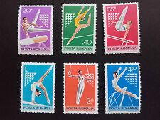 1977 -Romania-Sport ,Mi.3467-3472, MNH