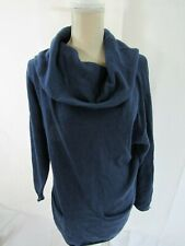 Avalin Blue Cowl Neck Sweater Size M