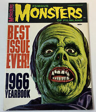 FAMOUS MONSTERS 1966 Yearbook Fearbook