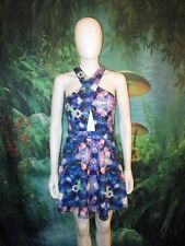 Naven Womens Blue Multicolor Kaleidoscope Floral Sleeveless size M (E)