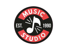 1 x adhesivo Music Studio est 1990 música radio sticker DJ sticker tuning OEM
