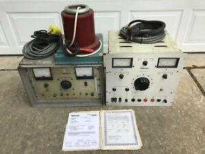 Hipotronics 730-1A AC Dielectric Test Set + 8100-50 High Voltage DC Power Supply