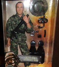 """WORLD PEACEKEEPERS 12"""" NAVY SEAL SPECIAL OPS FIGURE CAMO 0UTFIT 9 ACCESS"""