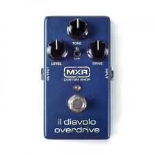 MXR Custom Shop Il Diavolo Overdrive Guitar Effect Pedal - Brand New!
