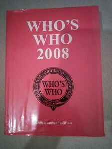 Who's Who 2008 Reference Book