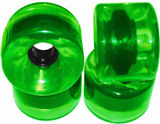 76mm x 53mm 78a Longboard Skateboard Wheels GREEN