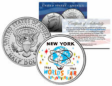 WORLD'S FAIR 1964 1965 NEW YORK * 50th Anniversary * 2014 JFK Half Dollar Coin