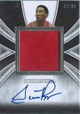 2012 LEAF SCOTTIE PIPPEN SP-1 JERSEY/AUTO/ED 22/99 THATS RIGHT ONLY 99/MADE
