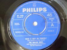 "THE WALKER BROTHERS ~ MAKE IT EASY ON YOURSELF ~ 1965 UK POP 7"" VINYL SINGLE"