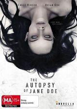 The Autopsy Of Jane Doe (DVD, 2017)