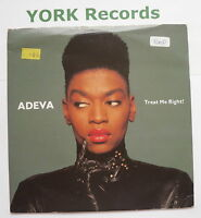 """ADEVA - Treat Me Right - Excellent Condition 7"""" Single Cooltempo COOL 200"""