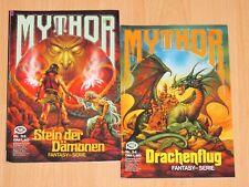 2x - Mythor - Fantasy Serie - Stein der Dämonen Nr. 33 / Drachenflug Nr. 34