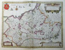 MERCATOR HONDIUS HERZOGTUM MECKLENBURG POMMERN MEKLENBURG DUCATUS 1606