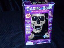 Talking Talk Thru Boris Halloween Interactive Animated Skull Voice Changer