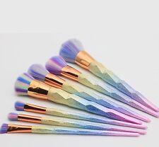 7 pieces Unicorn Brush set Make Up Foundation  Blush Eyeshadow Contour LipSet 🦄